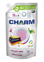 """Гель для стирки цветного белья ТМ """"CHARM"""", 900 мл (doy-pack)"""