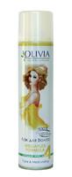 Лак для волосся «Olivia» CARE & MOISTURIZING з екстрактом жожоба. Сильна фіксація.
