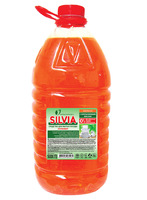ЗАСІБ ДЛЯ МИТТЯ ПОСУДУ «SILVIA» АНТИЖИР «АПЕЛЬСИН» з апельсиновим маслом 5000 мл