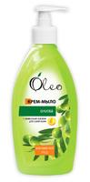 """КРЕМ-МИЛО """"Олива"""" ТМ """"Oleo"""". Комплексний догляд для сухої шкіри."""