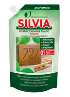 ГОСПОДАРСЬКЕ МИЛО рідке.  Універсальний миючий засіб «SILVIA», 500 мл (DOY-PACK).